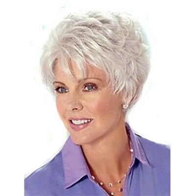 2021 New Lace Front Wigs Silver Grey Wigs Sale Aqua Blue Wig Best Natural Hair Color For Gray Hair