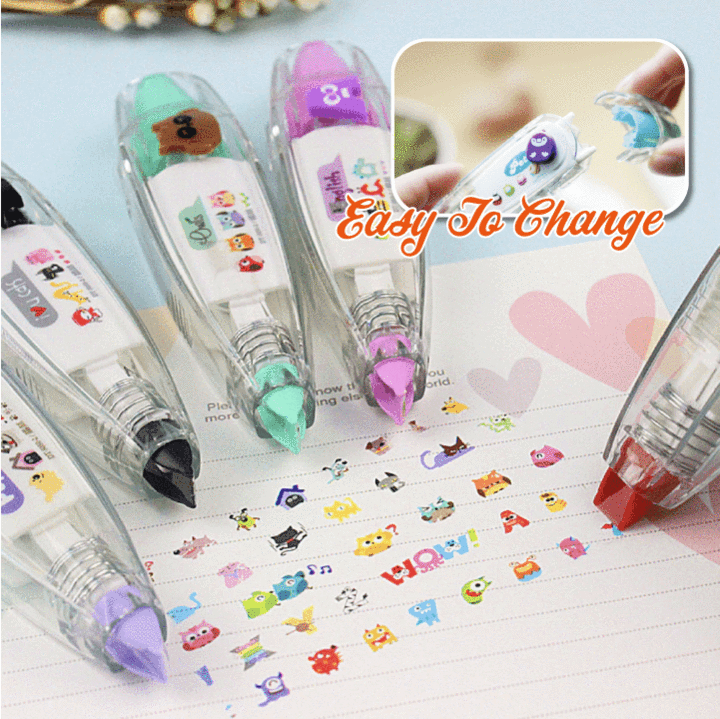 Cartoon Decorative Tape Pen Christmas SALE