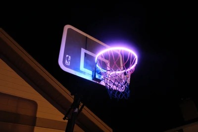 【BUY 2 SAVE $6 & FREE SHIPPING】Basketball Hoop -Activated LED Strip Light
