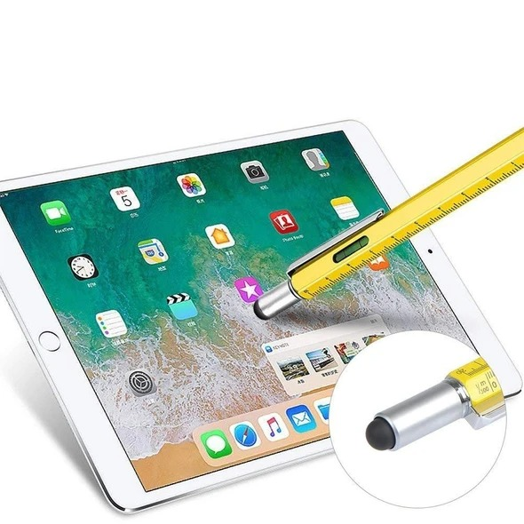(🎅Early-Christmas Hot Sale-50%OFF) 6 in 1 Multi-functional Stylus Pen--Buy More Save More