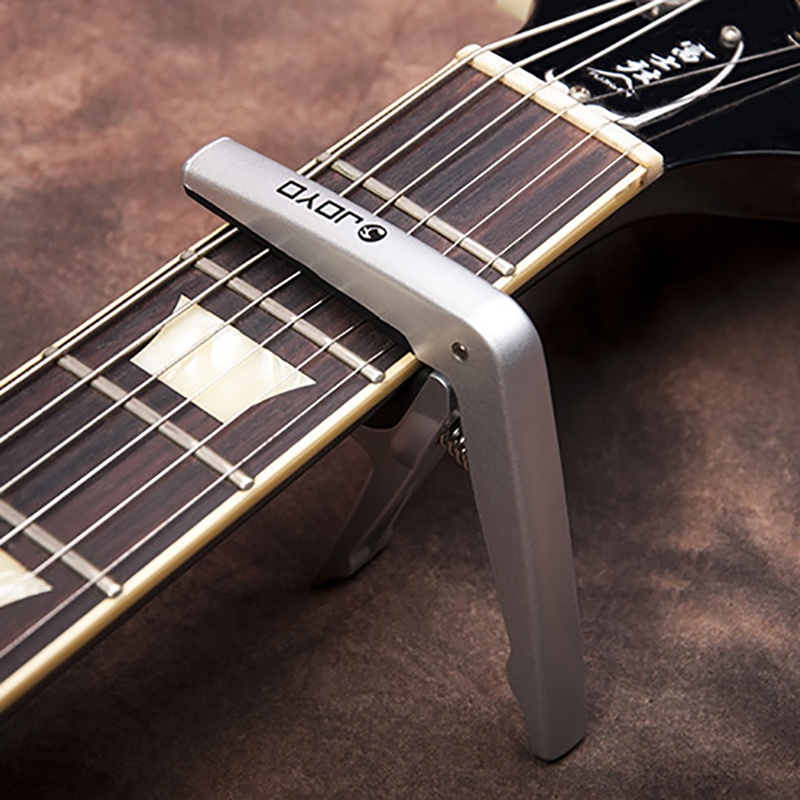 Music Instruments Guitar Capo Guitar Tuner for electric/wooden guitar Silver,Black,Wood
