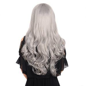 2020 Best Lace Front Wigs Hair Colour Grey Silver Highlights And Lowlights To Cover Gray Hair Dark Red Human Hair Wig Kids Gray Wig