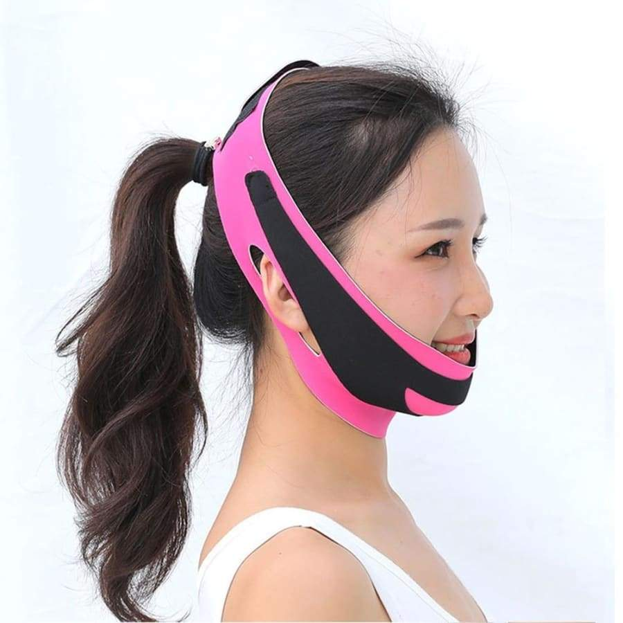 V Face Shaper Lift UP Mask Cheek Facial Slimming Breathable Anti Wrinkle Reduce Double Chin Face Shaper