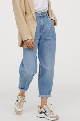 Jeans Outfit For Women Casual Wear Wide Leg Pants Women Square Pants Fashion Chic Clothing Bleached Jeans Casual Church Outfits With Jeans
