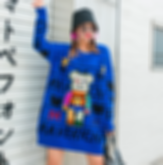 Cartoon heavy industry nail beads sequins hot diamond fashion loose round neck pullover outer wear sweater