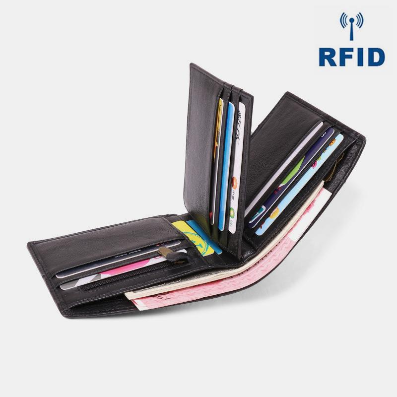 RFID Vintage Real Leather Wallet
