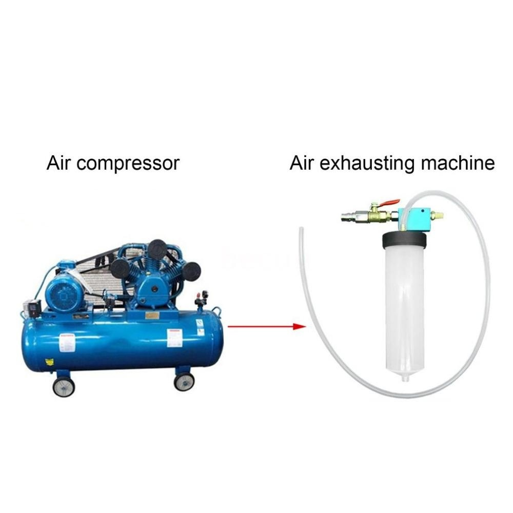 Auto Brake Oil Change Kettle Car Fluid Oil Replacement Tool Hydraulic Clutch Oil Pump Oil Bleeder Empty Exchange Drained Kit