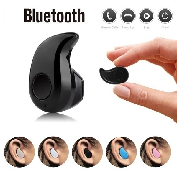 1pc Wireless Headphone Bluetooth Earphone Earbuds With Mic Mini Invisible Bluetooth Headset MP3 Stereo Sound S530 For