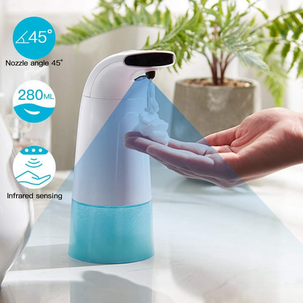 [BUY 2 FREE SHIPPING] AUTOMATIC INDUCTING FOAMING SOAP DISPENSER INTELLIGENT INFRARED SENSOR TOUCHLESS LIQUID FOAM HAND SANITIZERS WASHER