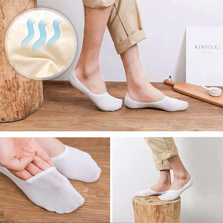 Breathable Ice Silk Socks(Buy More Save More)