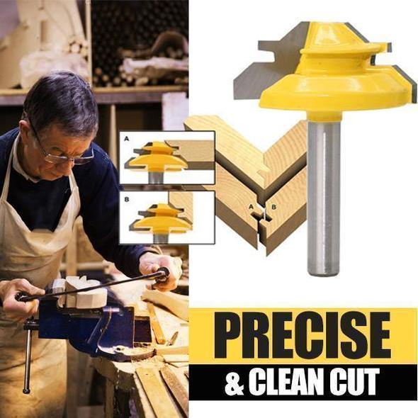 (🔥Father's Day Hot Sale -49%OFF) Tootock Tongue Groove Milling Router Bit WC187/188