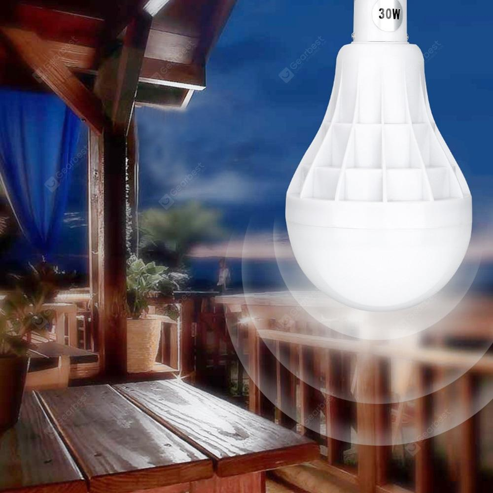 30W Bulb Light LED Rechargeable for Outdoor Camping Tent