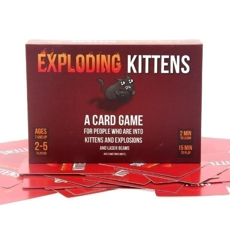 Fun Family Party Board Game Blast Card Game Hot Table Game Blast and Kitten Popular Family Blast Playing CardsKids Against Maturity: A Card Game for Kids, Super Fun Hilarious, The Best Party Game for Family Game Night