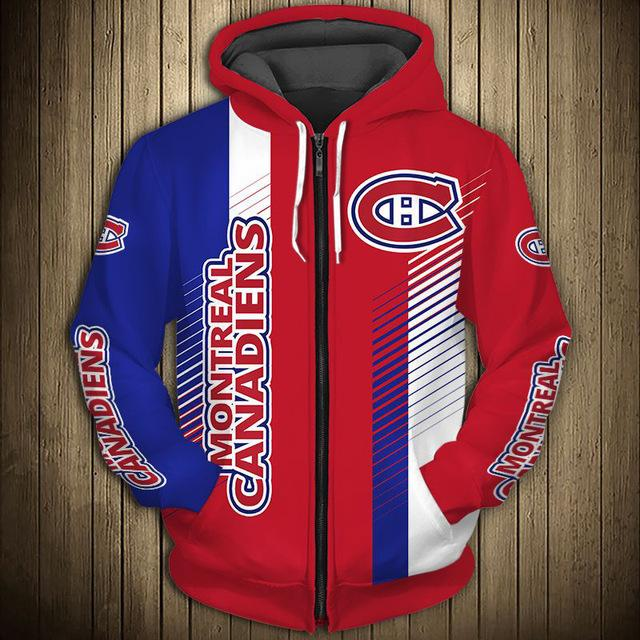 Montréal Canadiens Limited Edition Zip-Up Hoodie
