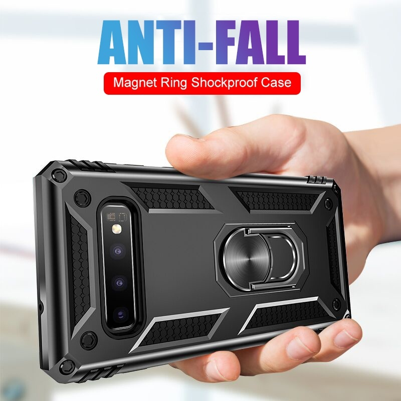 Luxury Magnet Metal Ring Case On The For Huawei Nova 5i 5 4 3 P smart Z Plus 2019 Mate 20 X Pro Lite 10 9 P20 Pro Lite 2019 P30 Pro Lite P9 Lite Mini Honor 20 Lite Pro 10I 8S 8A 7A 10 Lite 8X Max Note 10 View 20 10 Y9 Y6 Y7 Y5 Prime 2019 Soft Silicone Sho