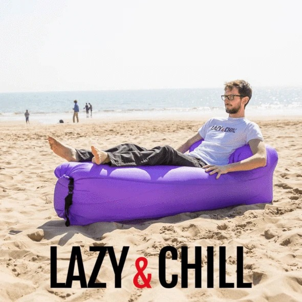 Ultralight Inflatable Lounger - Buy 2 Free Shipping