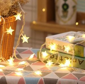 Black Friday Offer- Five pointed Star shape Twinkle Fairy Lights