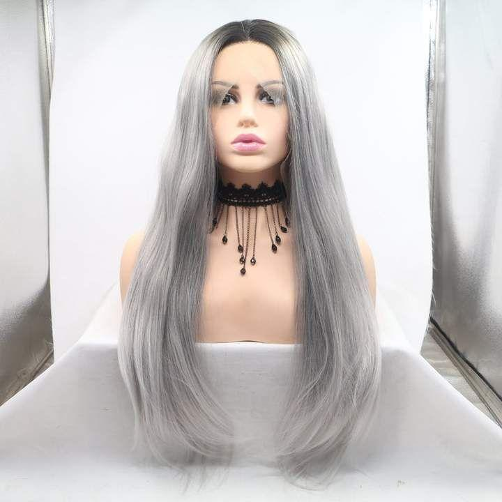 Gray Wigs Lace Hair Best Hair Mascara To Cover GrayBlack To Gray Hair