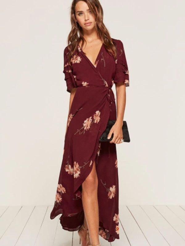 2020 Women Dress Casual Dress Print Mother Of The Groom Outfits Slim Fit Dress For Ladies