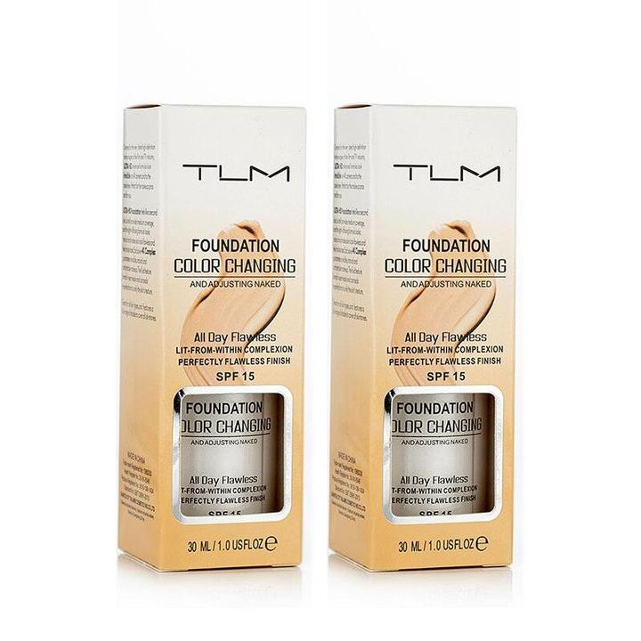 TLM Color Changing Foundation-Suitable for All Skin Tones-BUY 2 save $10