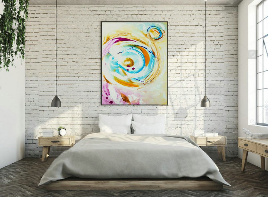 Contemporary Wall Art On Canvas,Extra Large Wall Art ,Large Abstract Painting Canvas,Large Art Original Abstract Painting ,XXXl XL XXLLAS019