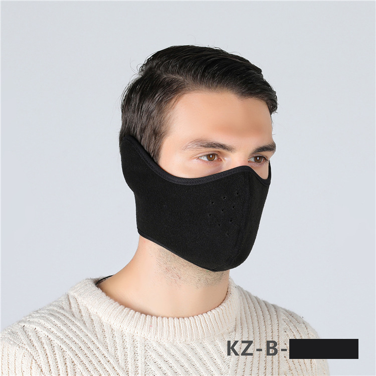 Winter Wool Ear Protection Mask
