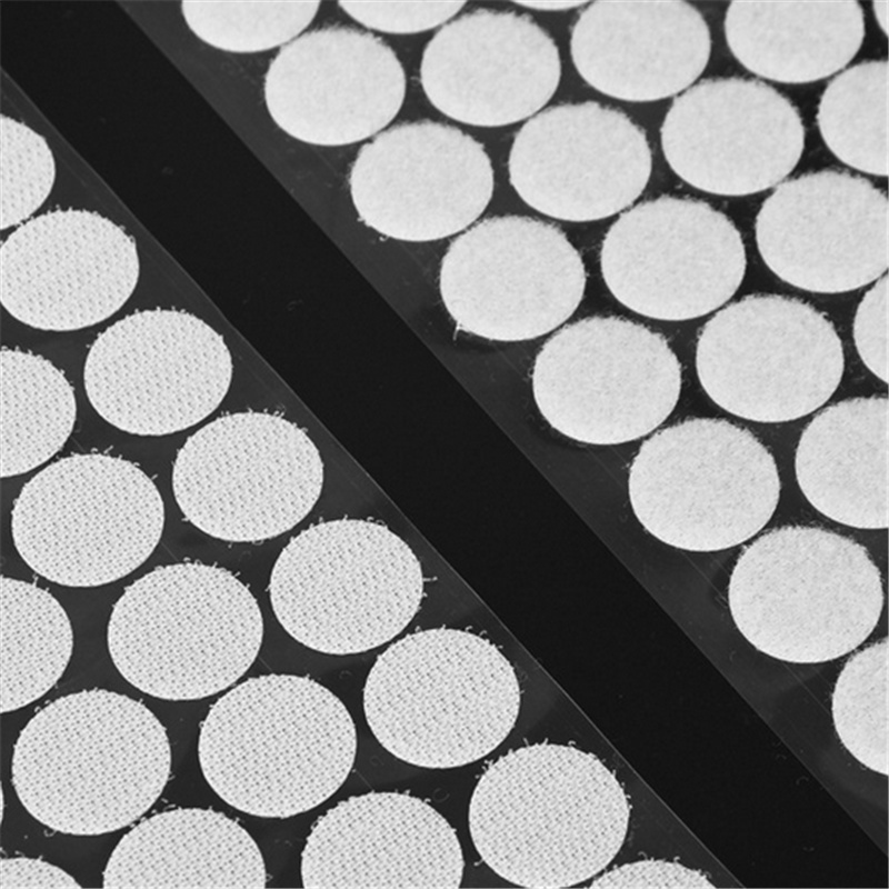 10-25mm Self Adhesive Fastener Tape Dots Strong Glue Magic Sticker Disc White Black Round Coins Hook Loop Tape