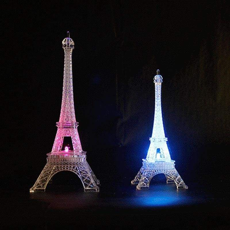 Eiffel Tower Color Changing