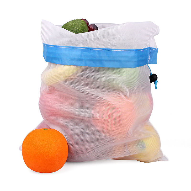 10 PC Eco Friendly Resuable And Washable Produce Bags