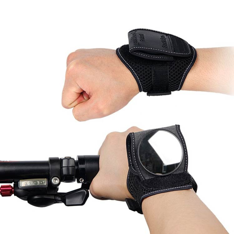 BICYCLE WRIST SAFETY REARVIEW MIRROR - Buy 2 Free Shipping