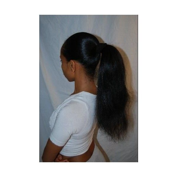 2020 New Straight Wigs Black Long Hair 100 Human Hair Wigs For African American Black Wig Cap Under Lace Wig