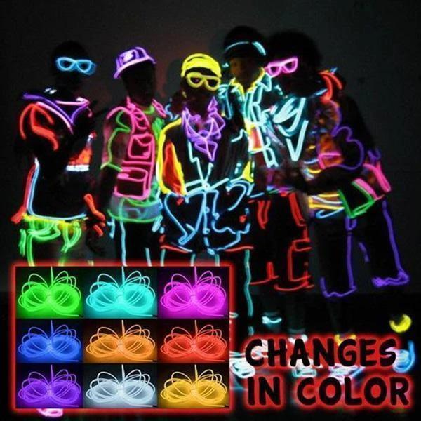 【Free shipping over 29.99$】Halloween LED Stick Figure Kit
