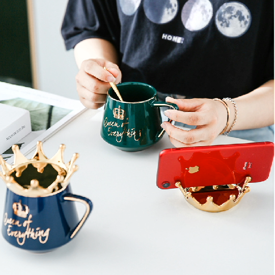 Queen of everything--Surprise gift for your queens--queen cups