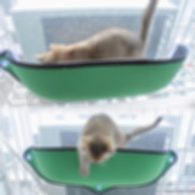 Comfortable Window Mounted Bed Cat Hammock with Suction Cup