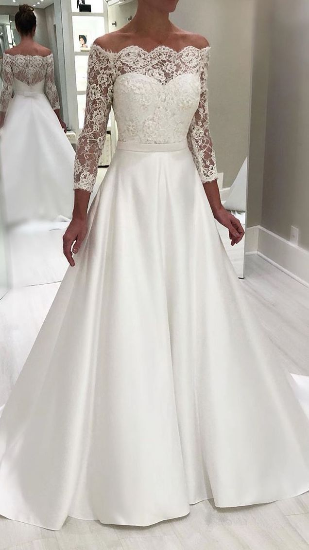 Fashion And Beautiful Antique Wedding Dresses For Girl
