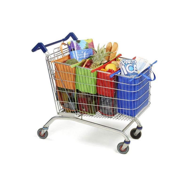 Eco-friendly Folding Reusable Shopping Trolley Bag