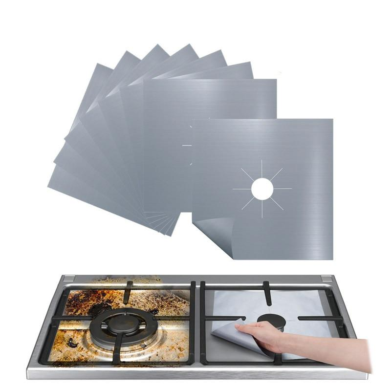 Kitchen Gas Stove Anti-oil Pad Gas Stove Anti-fouling Pad Cleaning Pad