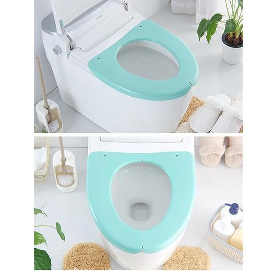 Astonishing Skrten Folding Plastic Toilet Seat Cover For Adult Personal Pabps2019 Chair Design Images Pabps2019Com