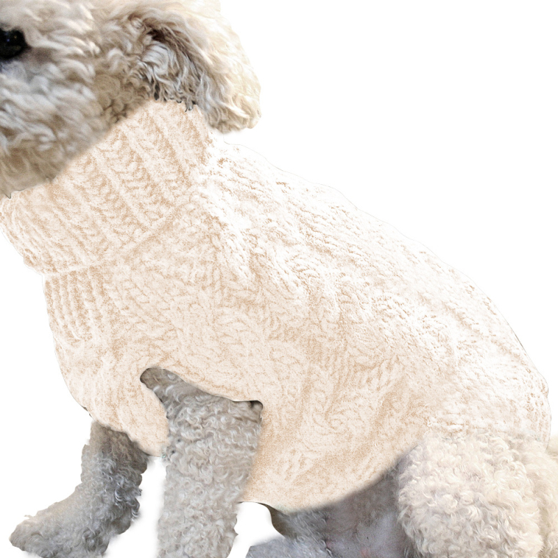 Small Dog Cat Pet Warm Cute Knitted Knitwear Sweaters Clothes