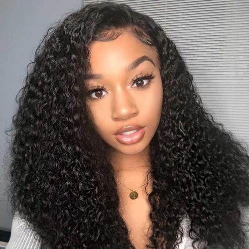 Black Wigs For Black Women Deep Wave Crochet Hairstyles Cheap Wigs For African American Women Deep Lace Front Wigs Hairstyle Waves