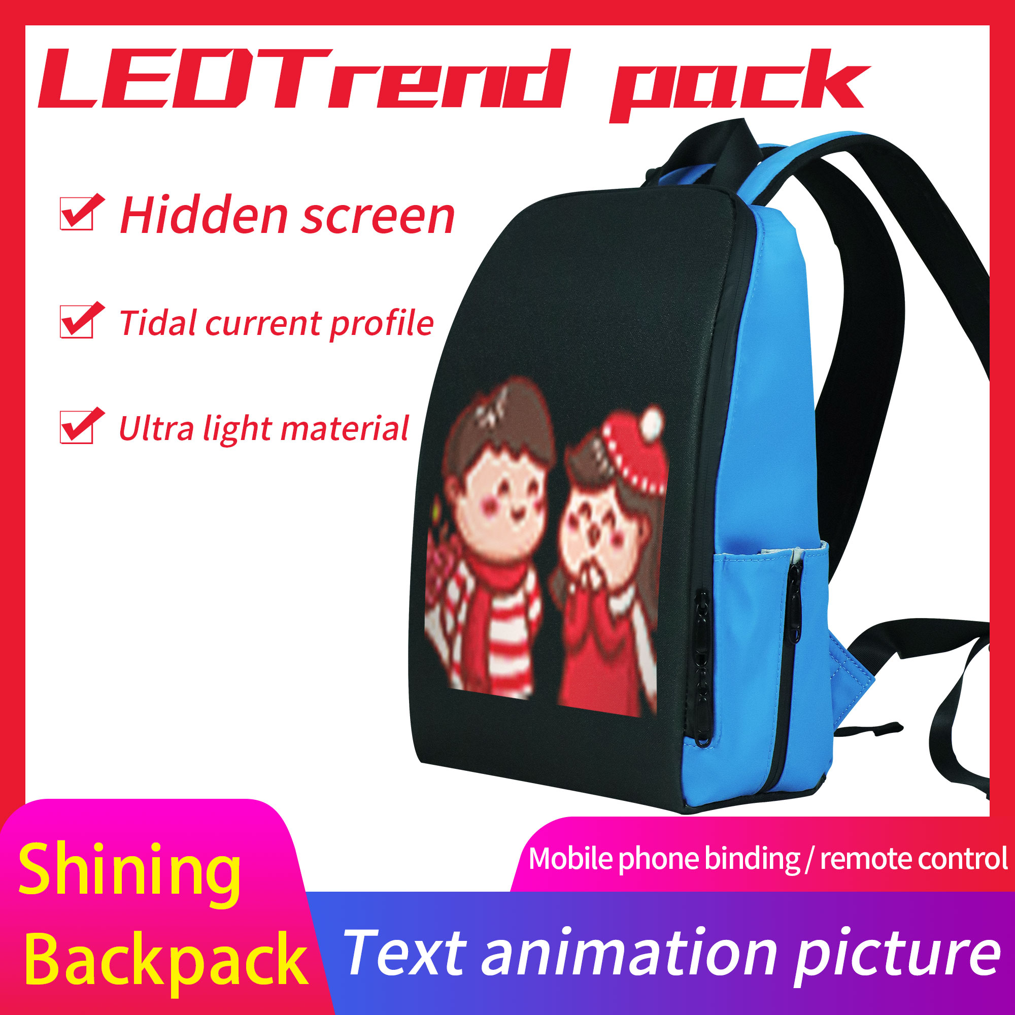MOST POPULAR BACKPACK - 85% OFF ONLY FOR TODAY! [BUY TWO FREE SHIPPING]