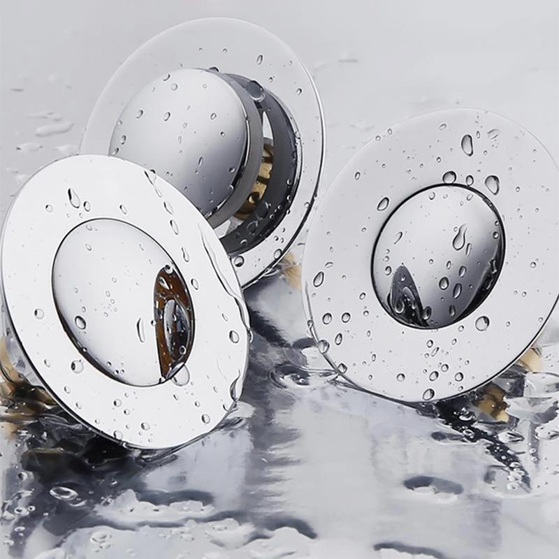 Universal Stainless Steel Pop-up Drain Filter