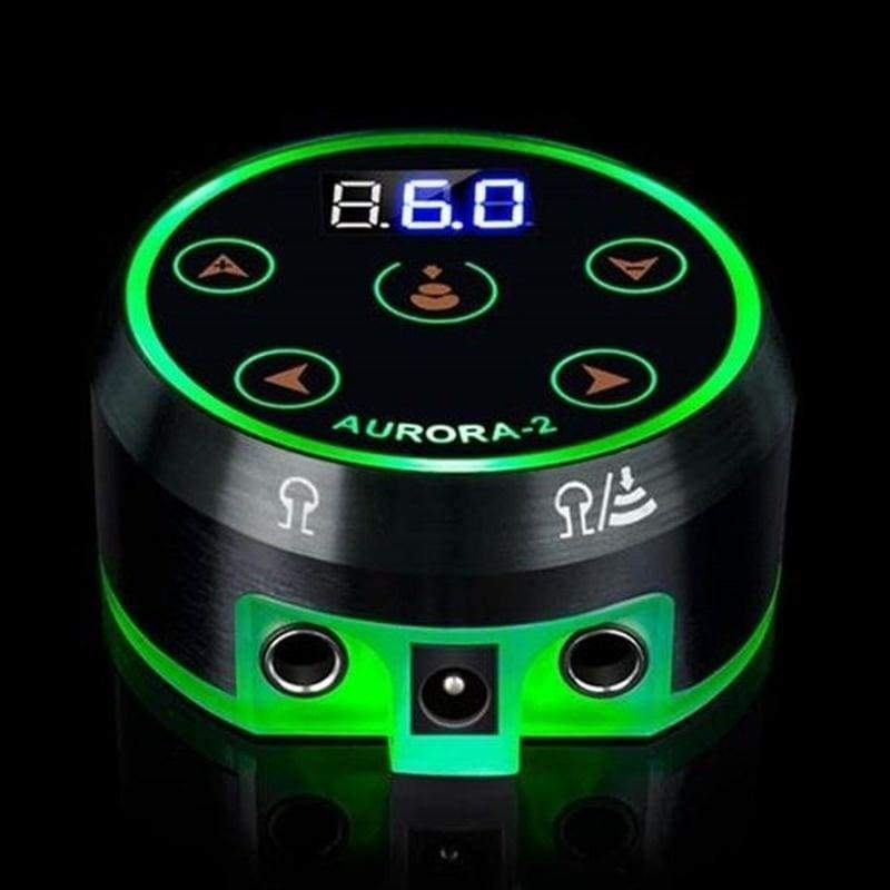 High Power Aurora Tattoo Power Foot Touch LCD Power Supply for Tattoo Machine Kit Tattoo Kit Power Supply