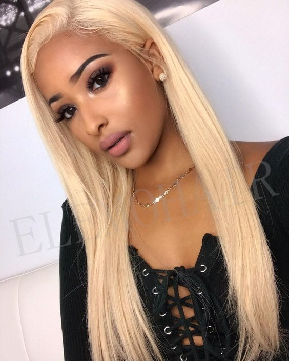 Lace Front Wigs Loreal Excellence 01 Golden Blonde Hair Wig Deep Wave Blonde Hair