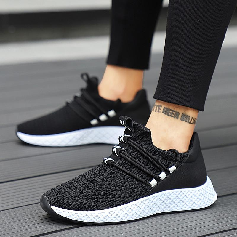 2020 Men's Breathable Casual Fashion Lace up Sneakers