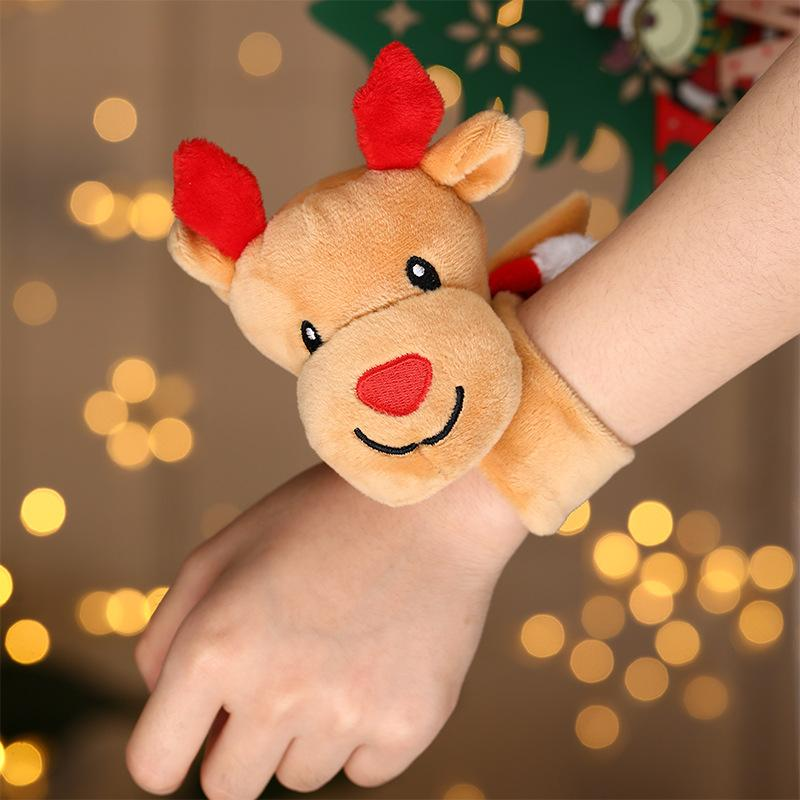 3 Pieces Wristband cute bracelet dress up as a gift Christmas old elk tree student dolls children network celebrity pop circle