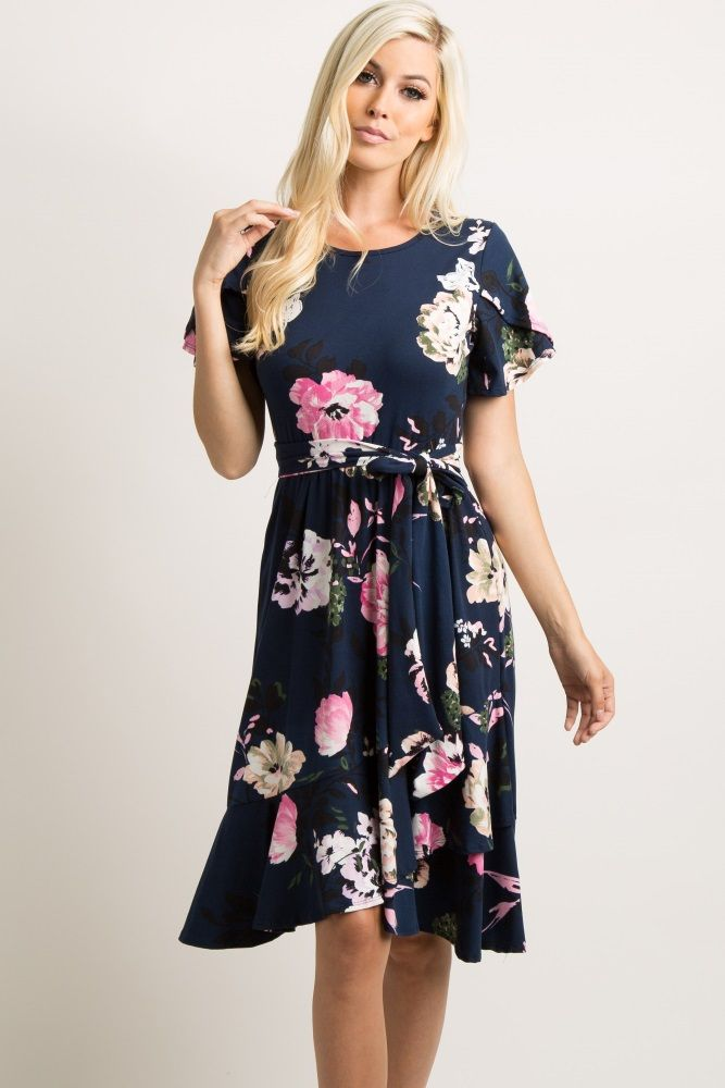 2020 Women Dress Casual Dress Print Ladies Clothes Gowns For Fat Ladies