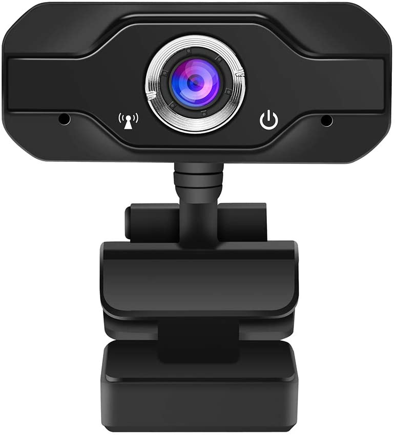 HD Pro Webcam with Built-in Microphone, Widescreen Video Calling and Recording, 1080p Streaming Camera, Desktop or Laptop Notebook Webcam