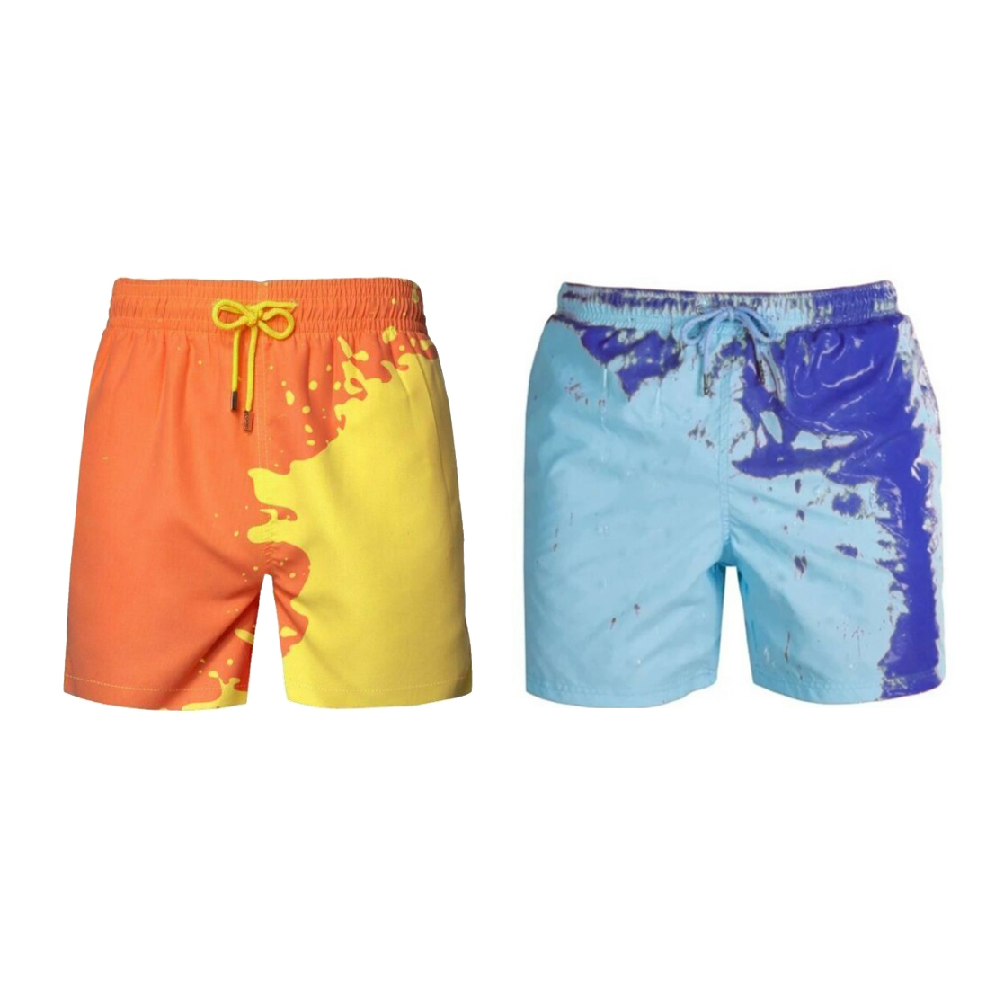 🔥Set 2 ($19.98 Each)-2021 New Color Changing Swim Trunks