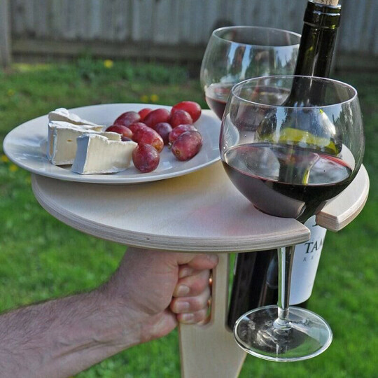 🍷🍸OUTDOOR PORTABLE WINE TABLE